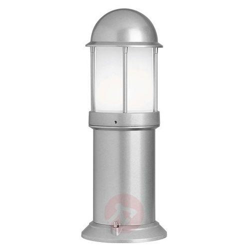 Lcd Ponadczasowa lampa na cokół marco srebrna