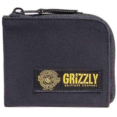Portfel - g-script half-zip black (blk) rozmiar: os marki Grizzly
