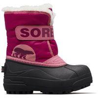 Sorel dziecięce śniegowce snow commander, 22, różowe