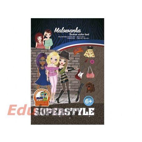 Malowanka Fashion sticker book - . (5901688171912)