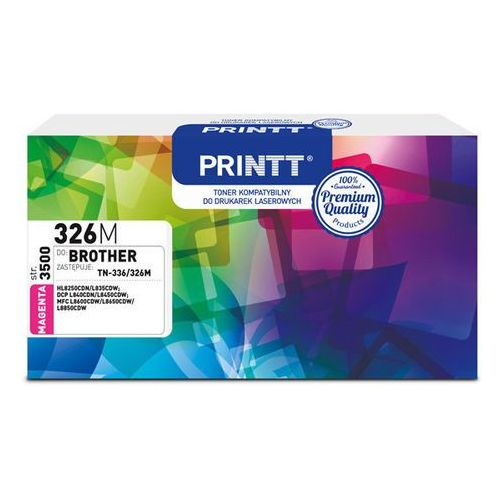 Ntt system Toner printt do brother ntb326m (tn-336/326) magenta 3500 str.