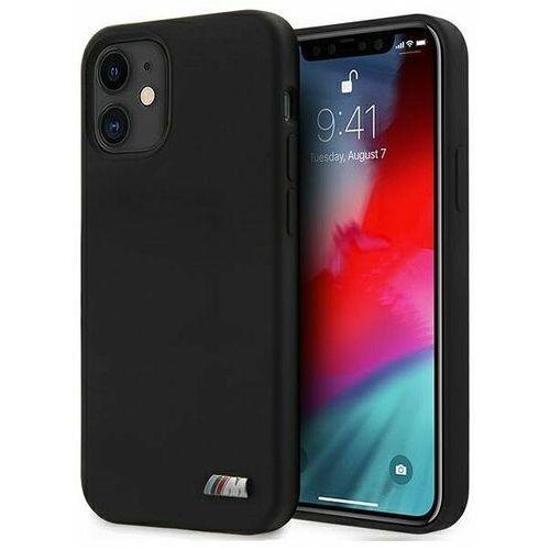 "Etui BMW BMHCP12SMSILBK iPhone 12 mini 5,4"" czarny/black hardcase Silicone M Collection"