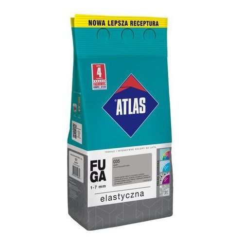 Fuga elastyczna Atlas 035 szary 5 kg, W-FU001-B0035-AT2B