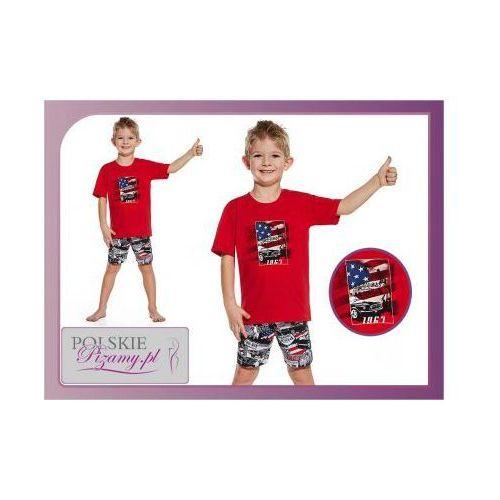 Piżama dziecięca ameryka: czerwień marki Cornette
