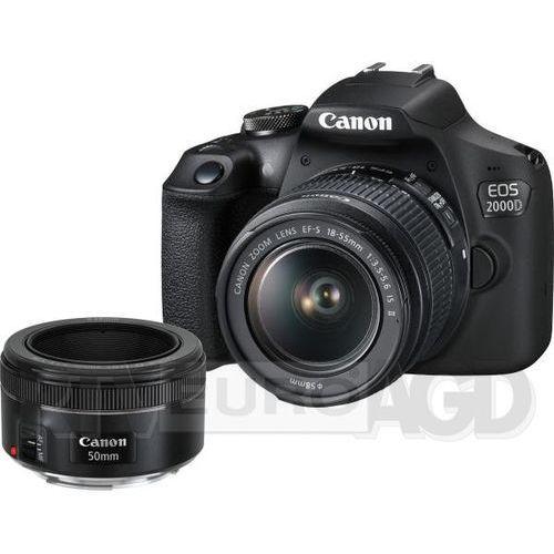 Canon EOS 2000D. Najniższe ceny, najlepsze promocje w sklepach, opinie.
