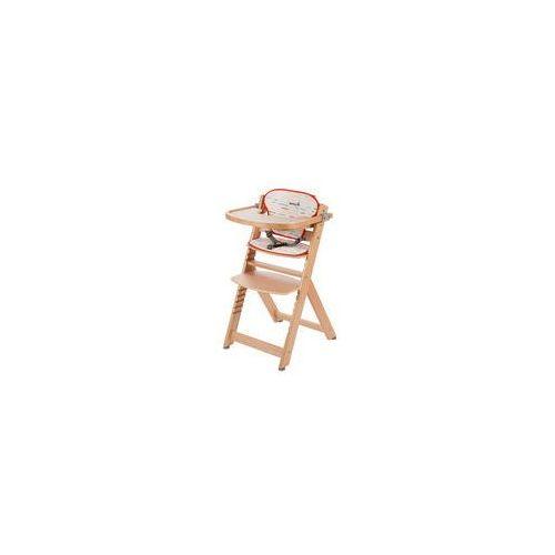 Krzesełko do karmienia Timba + wkładka Safety 1st (red lines/natural), 2760260001