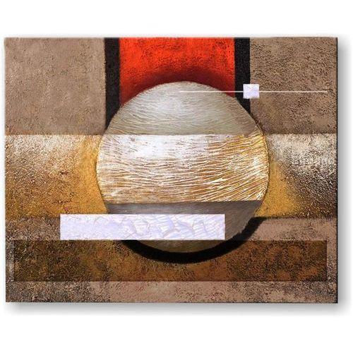 ręcznie malowany, grubo fakturowany obraz nowoczesny 80x100cm