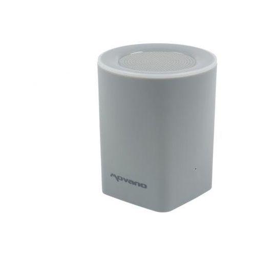 Głośnik bezprzewodowy bluetooth mbox2 - szary marki Movano