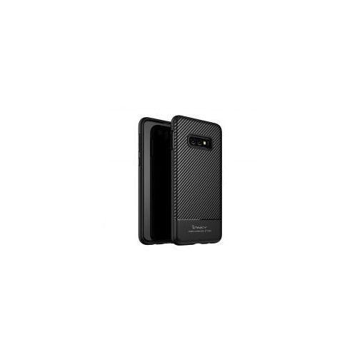 iPaky Carbon Fiber elastyczne etui pokrowiec Samsung Galaxy S10e czarny, 48787 (11734496)