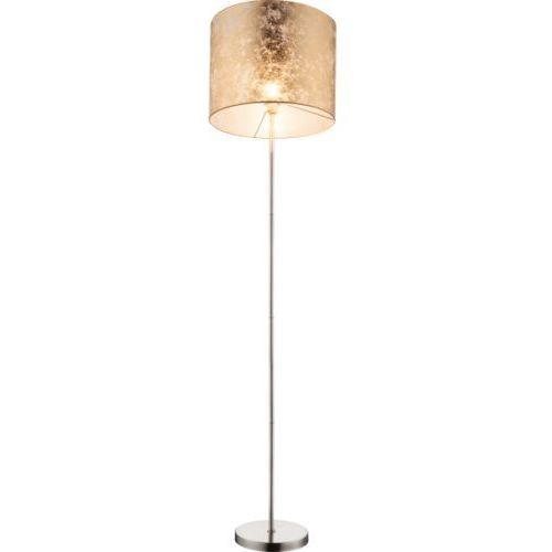 LAMPA podłogowa AMY 15187S Globo abażurowa OPRAWA stojąca złota (9007371312481)