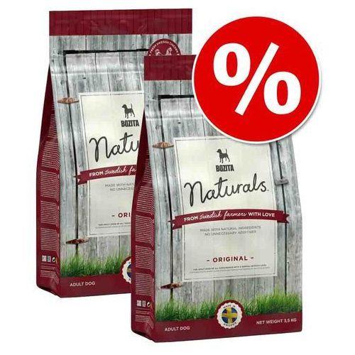 Dwupak  naturals - original, 2 x 12 kg marki Bozita