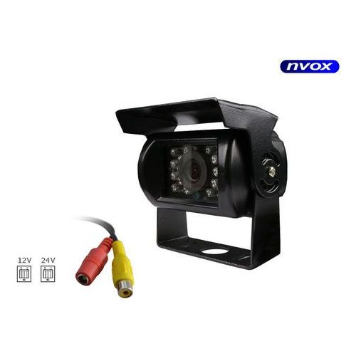 NVOX Samochodowa kamera cofania w metalowej obudowie 12V