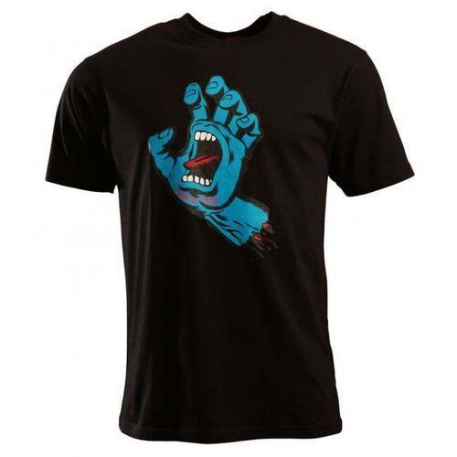 koszulka SANTA CRUZ - Screaming Hand Black (BLACK) rozmiar: XL