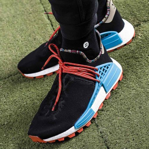 Buty sportowe męskie x pharrell williams solarhu nmd (ee7582), Adidas