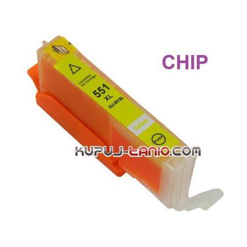 Tusz cli-551y xl (z chipem, celto) do canon mg5550, mg5450, mg5650, ip7250, mg6450, mg7550 marki Arte