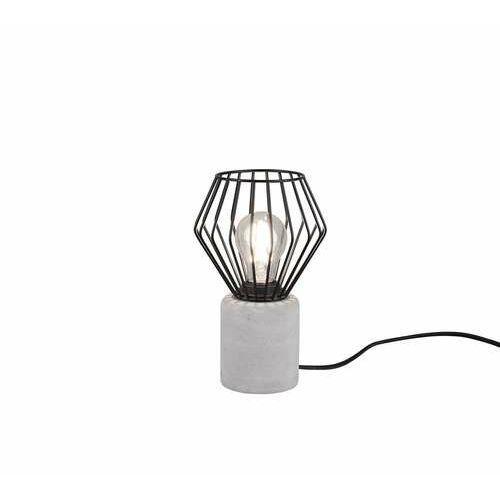 Trio jamiro 509200132 lampa stołowa lampka 1x40w e27 czarna/szara