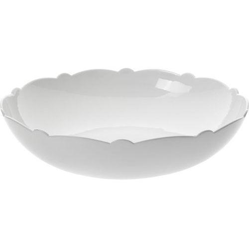 Alessi MW01/38 Dressed, miska do sałaty, porcelana, 290 CL, biały (0759284479315)