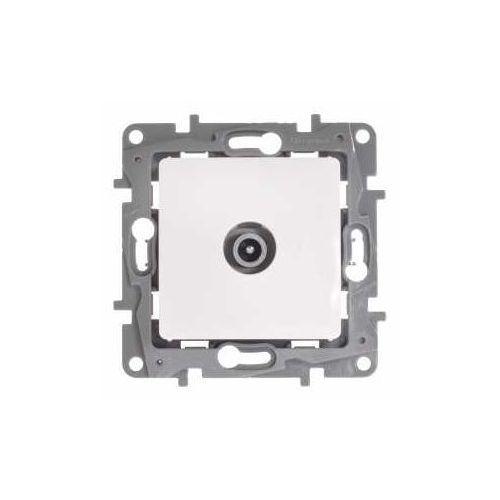 Legrand Gniazdo antenowe niloe 764552 tv przelotowe męskie 14db białe