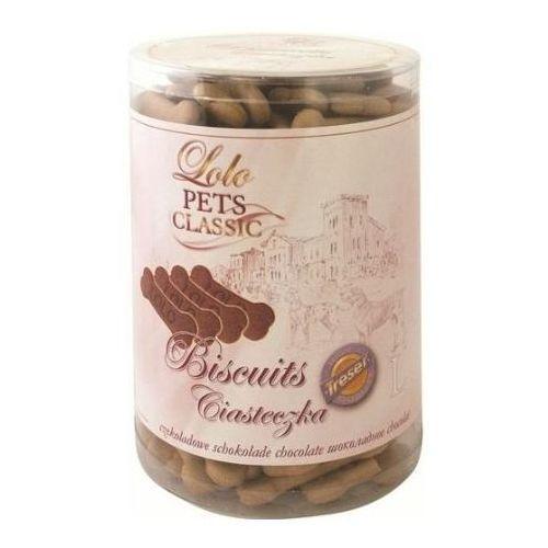treserki ciasteczka-kości dla psa rozmiar l czekoladowe marki Lolo pets