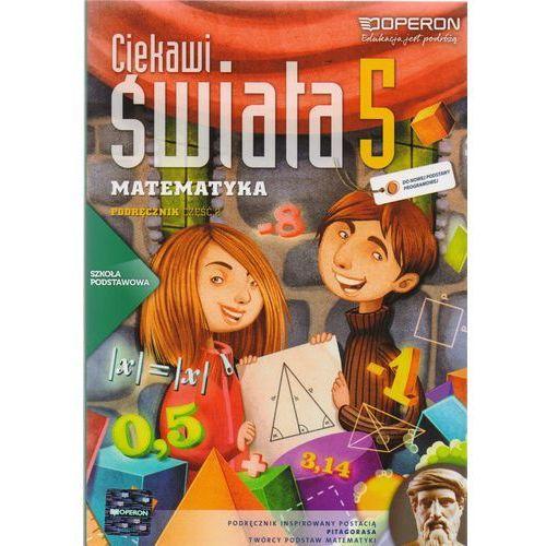 Matematyka SP KL 5. Podręcznik część 2. Ciekawi świata (2013) (208 str.)