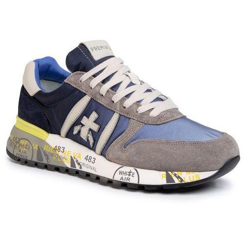 Sneakersy PREMIATA - Lander 4587 Blue, kolor niebieski
