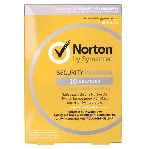Norton security 2018 premium 1 użytkownik, 10 urządzeń marki Symantec