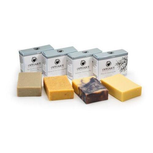 Odylique mydło w kostce z miodu i płatków owsianych (scrub do twarzy i ciała) 100g marki Essential care