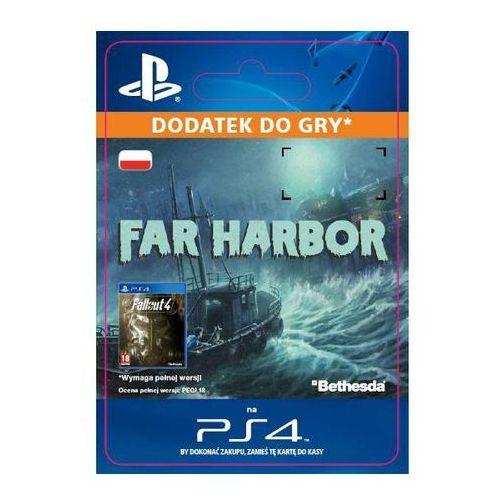 Fallout 4 - far harbor dlc [kod aktywacyjny] marki Sony