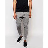 Nike Tech Fleece Skinny Joggers In Grey 805162-091 - Grey, w 2 rozmiarach