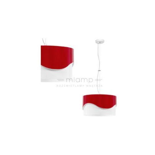 Spotlight Lampa wisząca akira 1030538 metalowa oprawa zwis czerwony