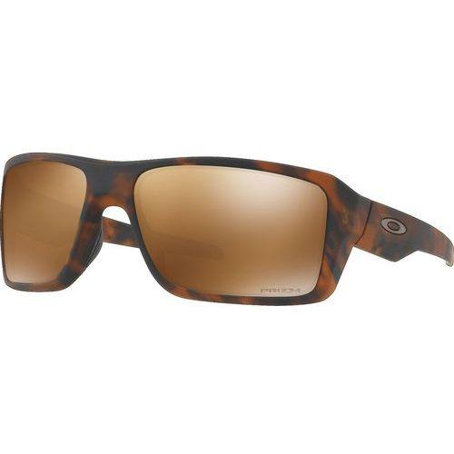 Oakley Double Edge Okulary rowerowe brązowy 2018 Okulary przeciwsłoneczne