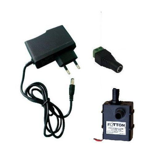 Pompa obiegowa FOTTON FT02 12V DC zatapialna ARDUINO z zasilaczem 1,5 A