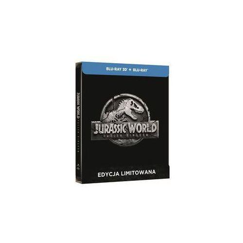 Jurassic World. Upadłe Królestwo 3D+2D (Steelbook) Blu ray. Darmowy odbiór w niemal 100 księgarniach!