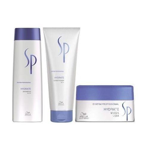 hydrate szampon 250ml + odżywka 200ml + maska 200ml wyprodukowany przez Wella sp