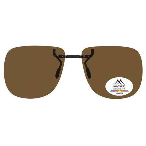 Okulary Słoneczne Montana Collection By SBG 1972 Clip On Polarized no colorcode, kolor żółty