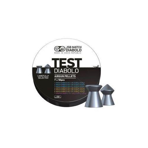 Śrut 4,5 mm jsb match diabolo test middle weight + darmowy zwrot (002002-350) marki Jsb / czechy