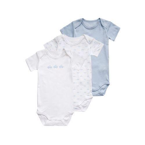 Name it  boys body dziecięce cashmere blue 3 szt.