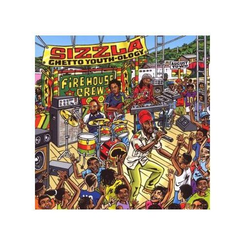 Greensleeves Ghetto youth-ology - sizzla (płyta cd) (0601811201725)