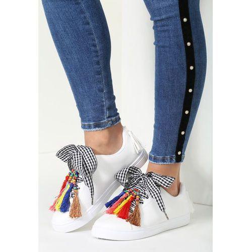 Białe buty sportowe sweet imagination marki Vices