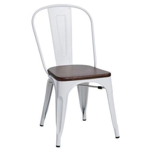 D2 Krzesło paris wood sosna orzech insp. tolix