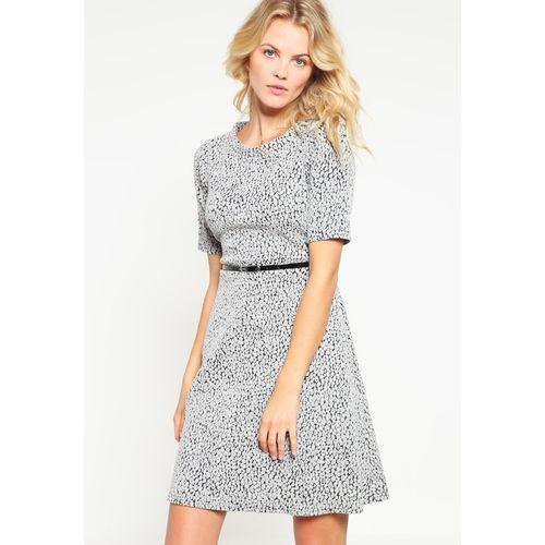 Dżersejowa sukienka, kolor szary
