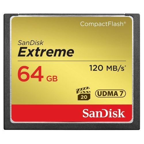 COMPACT FLASH EXTREME PRO 120MB/s 64GB UDMA7 (0619659123710)
