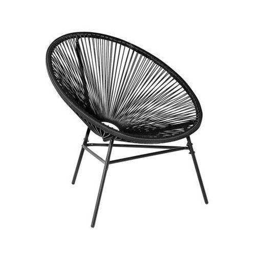 Krzesło ogrodowe czarne ACAPULCO (4260586354164)