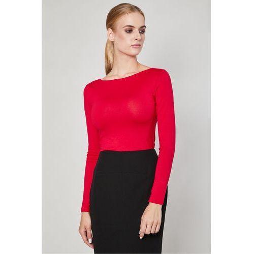441c514a557b Bluzka z długim rękawem Vares Red - Click Fashion