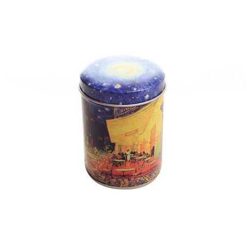 Mała puszka na herbatę zioła przyprawy metalowa marki Carmani