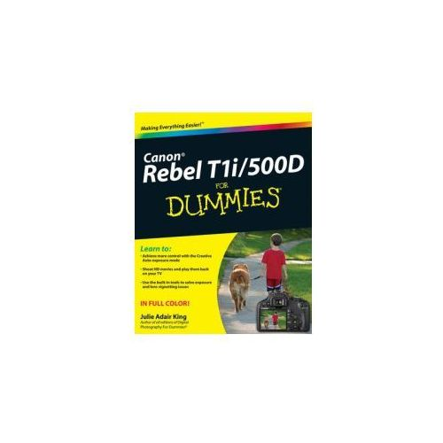 Canon EOS Rebel T1i/500D For Dummies (9780470533895)
