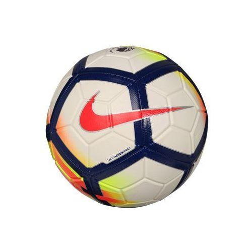 Nike Performance PREMIER LEAGUE STRIKE Piłka do piłki nożnej white/crimson/deep royal