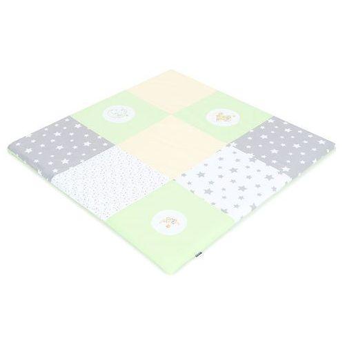 mata podłogowa do raczkowania dla dzieci 120x120 zielona s marki Mamo-tato