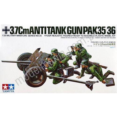 Tamiya german 37mm anti- tank gun - tamiya