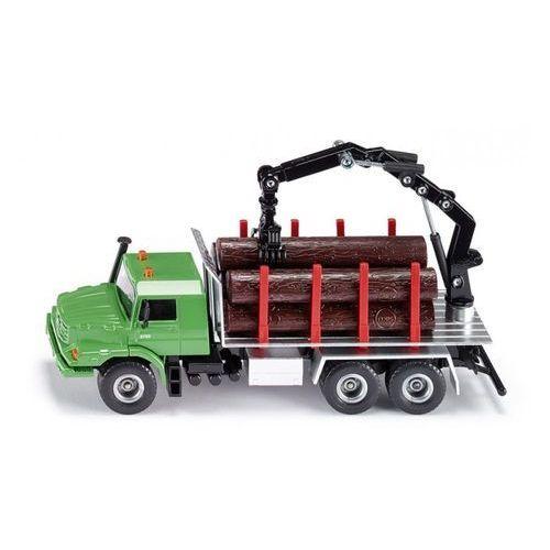 Super ciężarówka do przewozu drewna marki Siku